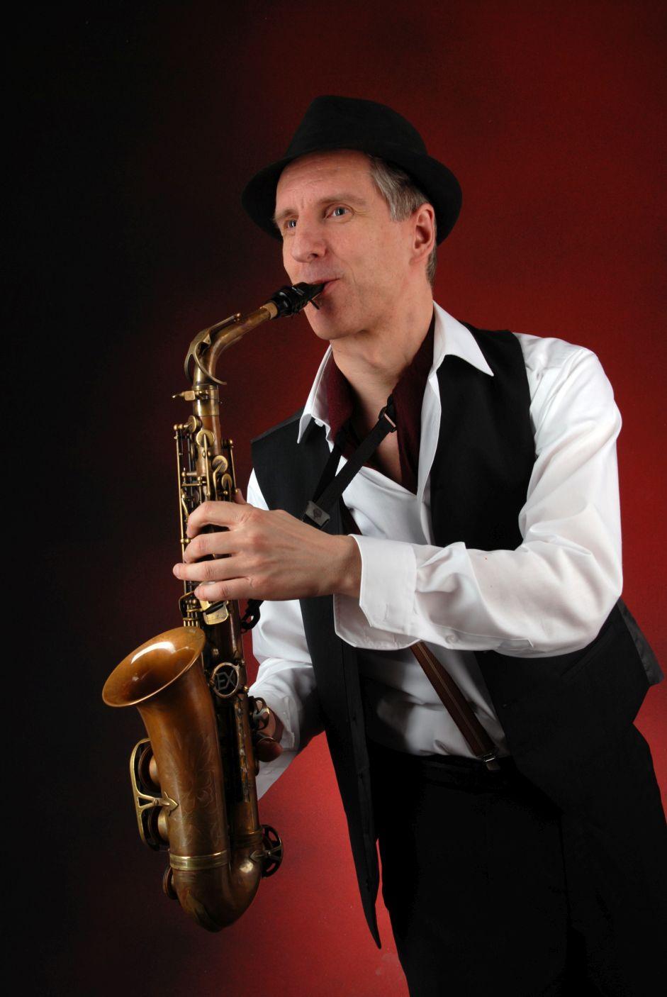 Saxophon solo, mit oder ohne Halbplaybacks