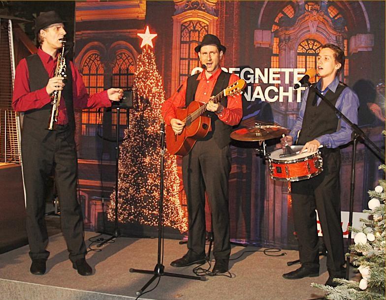 Festliches Weihnachtsspecial vom Weihnnachtstrio der Grooving Harmonists