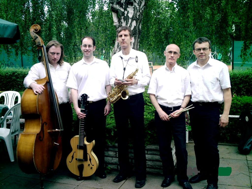 Gruppenfoto, Swing Affair hier im Quintett